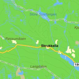 kart norden kjørerute Sverige på Gule Siders kart kart norden kjørerute