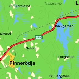 Noratel Sweden AB Laxå Enirose - Map sweden eniro