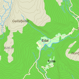 evanger kart Evanger på Gule Siders kart evanger kart