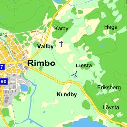 vallby karta Kvarteret Rimbo Vallby   karta på Eniro vallby karta