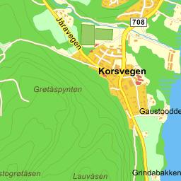 hølonda kart Hølonda Granvegen på Gule Siders kart hølonda kart