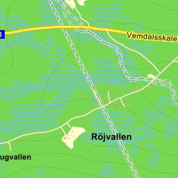 ripfjället karta Härjedalen Ripfjället Röjanvägen   karta på Eniro ripfjället karta