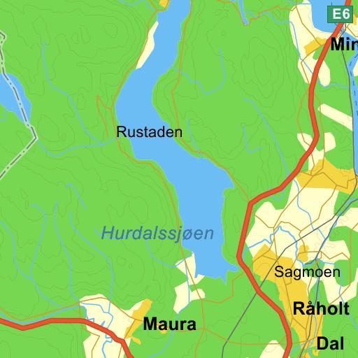 Kart Over Nannestad