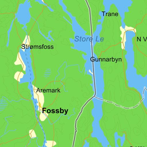 Karta Den Stora Algvandringen.Stora Le Karta Pa Eniro
