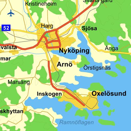 nyköping karta Klastorp Nyköping   karta på Eniro