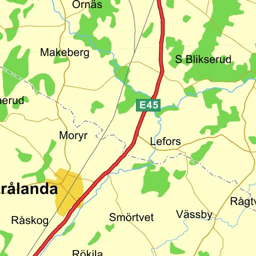Karta Vanersborg.Vanersborg Lovas Karta Pa Eniro