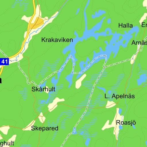Karta Boras Djurpark.Campingstuga Boras Karta Pa Eniro
