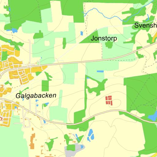 karta över dalby