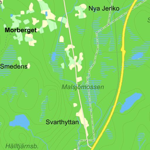 Karta Sverige Borlange.Borlange Ramshyttan Karta Pa Eniro