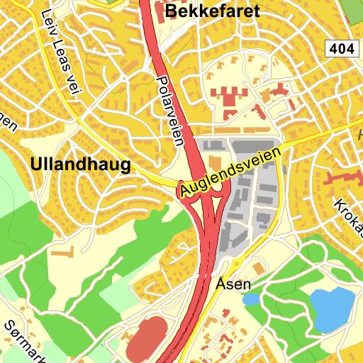 de gule sider rutevejledning
