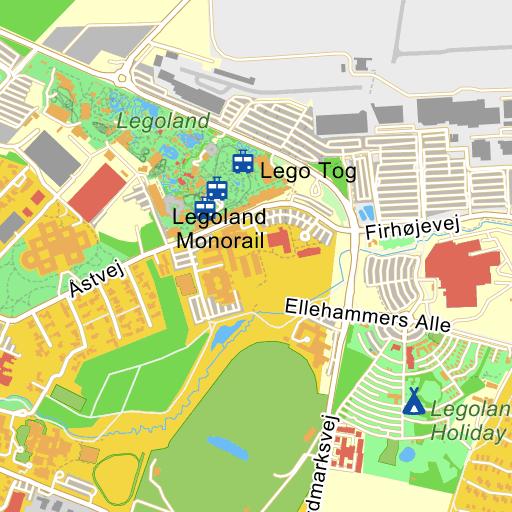 Legoland Village Kort På Krak
