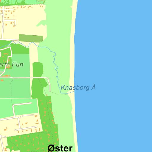 Vibevej Ålbæk Frederikshavn - kort på Krak