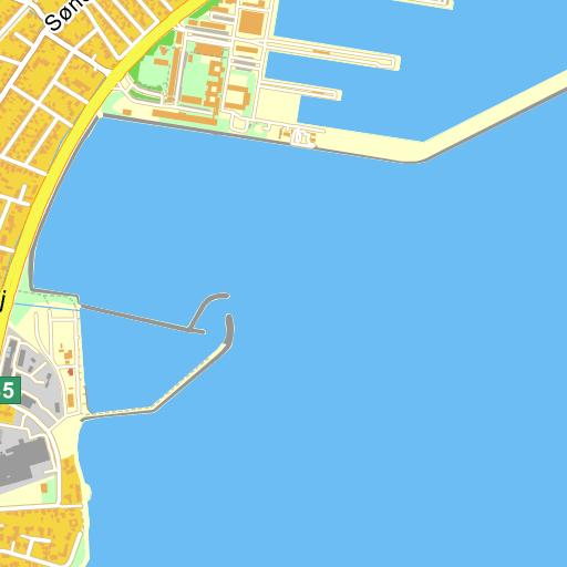 Vibevej 16 9900 Frederikshavn - kort på Krak