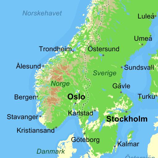 Karta Syd Norge.Kartor Vagbeskrivningar Flygfoton Sjokort Mycket Mer Pa Eniro Se