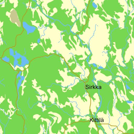 Karta Sverige Pajala.Pajala Karta Pa Eniro